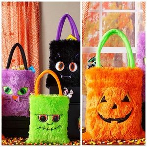 Other - NWT! Halloween Furry Whimsical Treat Bags